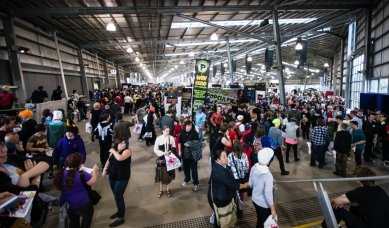 Captured at Supanova Melbourne 2013