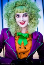 Captured at Perth Supanova 2013 Joker: Claire Stacey