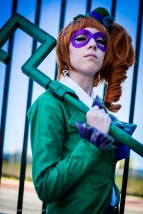 Captured at Perth Supanova 2013 Riddler: Millie Crane