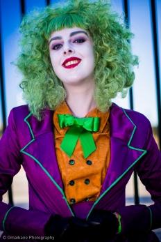 Captured at Perth Supanova 2013 Joker: Claire Stacey