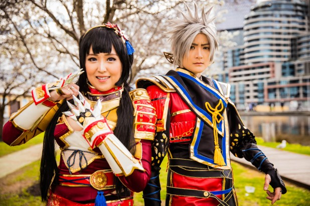 captured at #madfest Melbourne 2016. Cosplayers Pinky & Orochi X