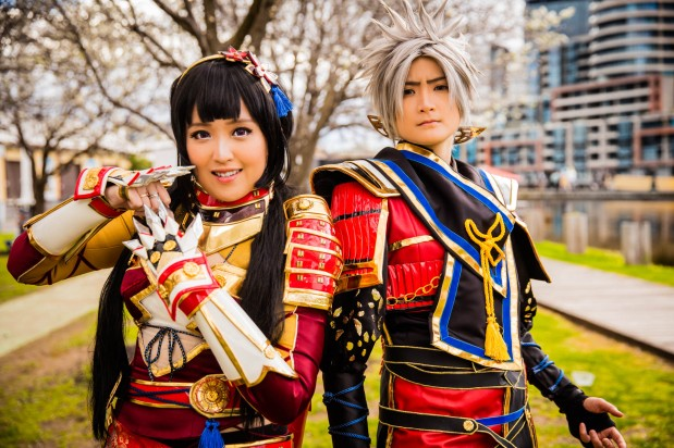captured at #madfest Melbourne 2016. Cosplayers Pink & Orochi X